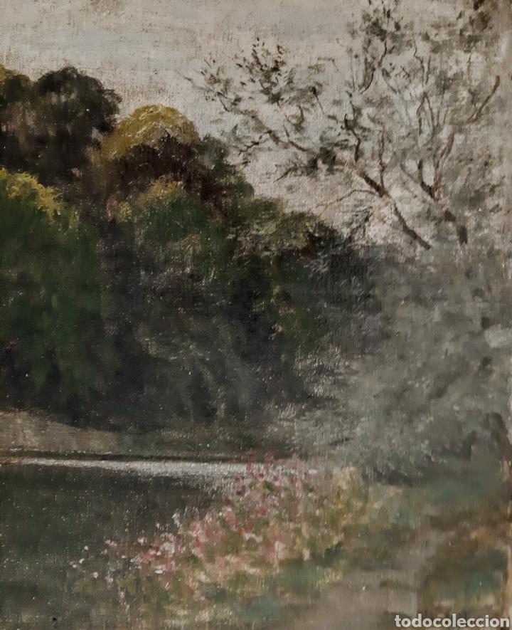 Arte: Óleo sobre lienzo de Will Fenton ( Escuela Inglesa ) de 53 x 37,5 - Foto 3 - 195275711