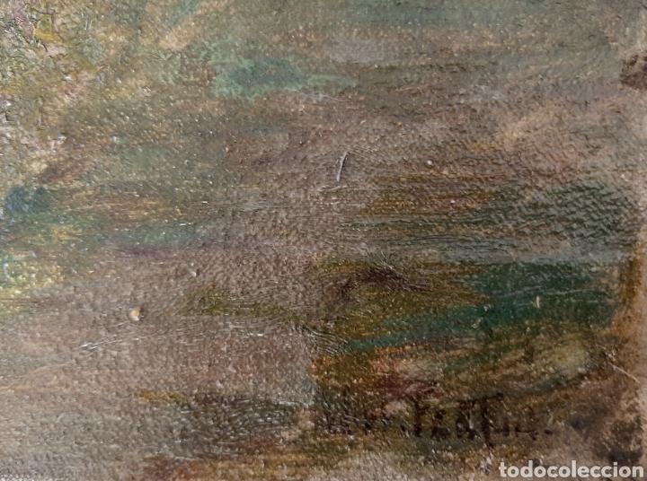 Arte: Óleo sobre lienzo de Will Fenton ( Escuela Inglesa ) de 53 x 37,5 - Foto 4 - 195275711