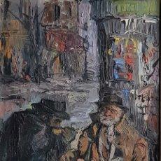 Arte: VIRGILIO GALAN, PRECIOSA PINTURA ÉPOCA DE PARIS, FIRMADO.. Lote 195282502