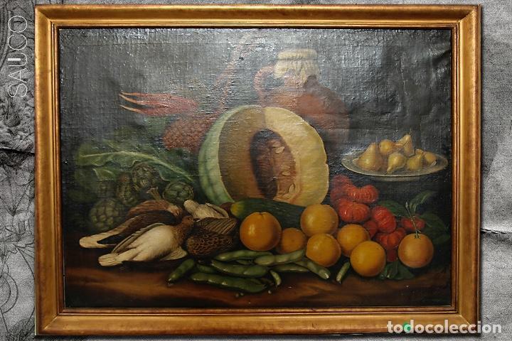 PINTURA ÓLEO SOBRE LIENZO XIX (Arte - Pintura - Pintura al Óleo Moderna siglo XIX)