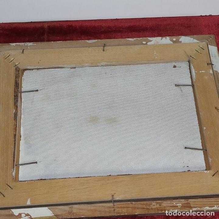Arte: CASA DE CAMPO. ÓLEO SOBRE TABLEX. ESTILO IMPRESIONISTA. FIRMADO. ESPAÑA. SIGLO XX - Foto 7 - 195300926