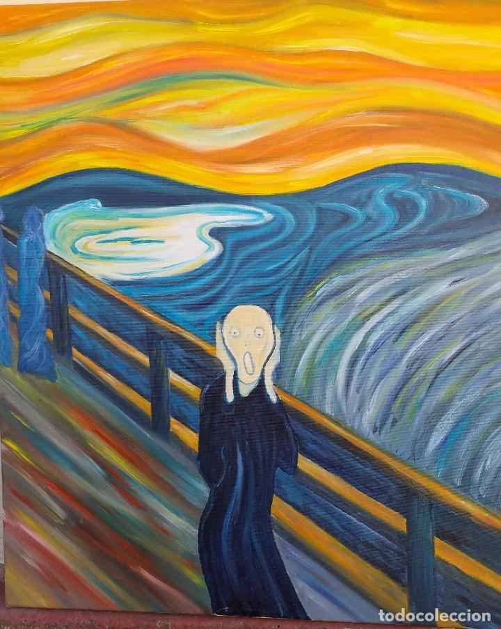 EL GRITO DE MUNCH (Arte - Pintura - Pintura al Óleo Contemporánea )