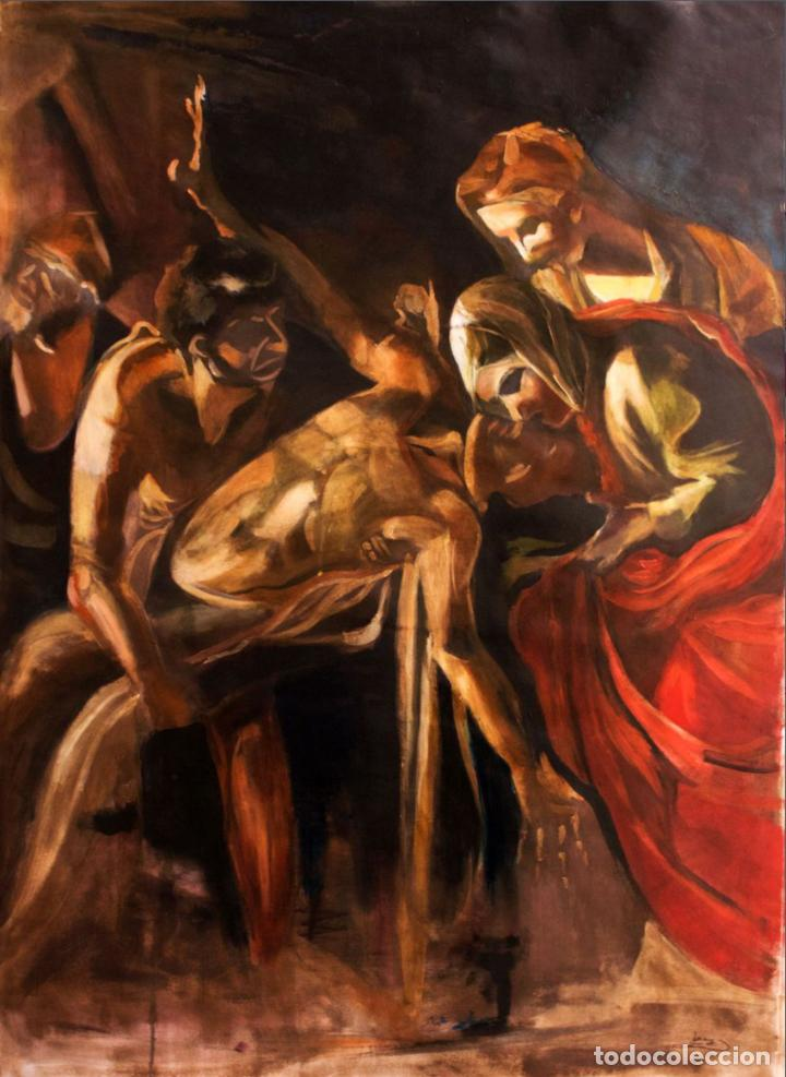 LA RESURRECCIÓN DE LÁZARO (Arte - Pintura Directa del Autor)