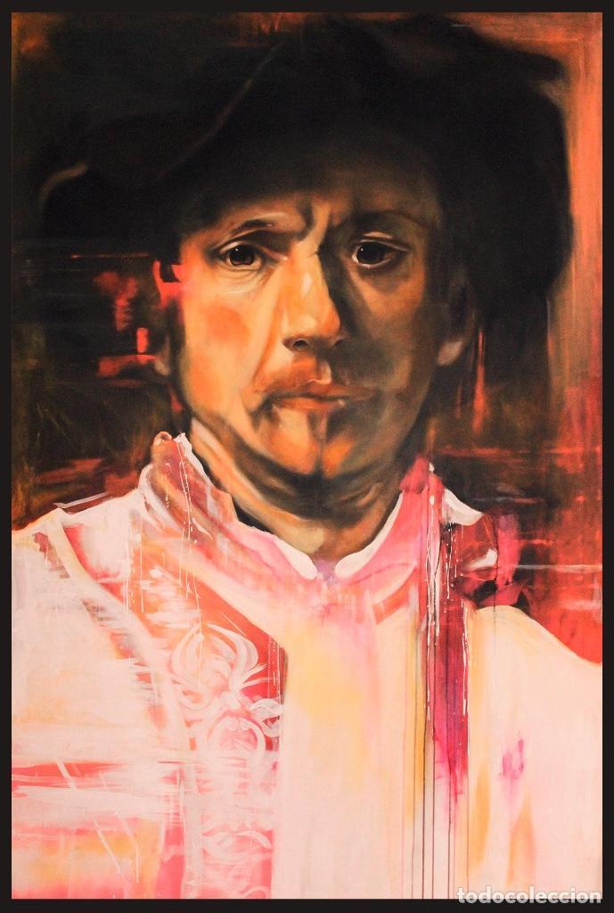 REMBRANDT CONTEMPORÁNEO (Arte - Pintura Directa del Autor)