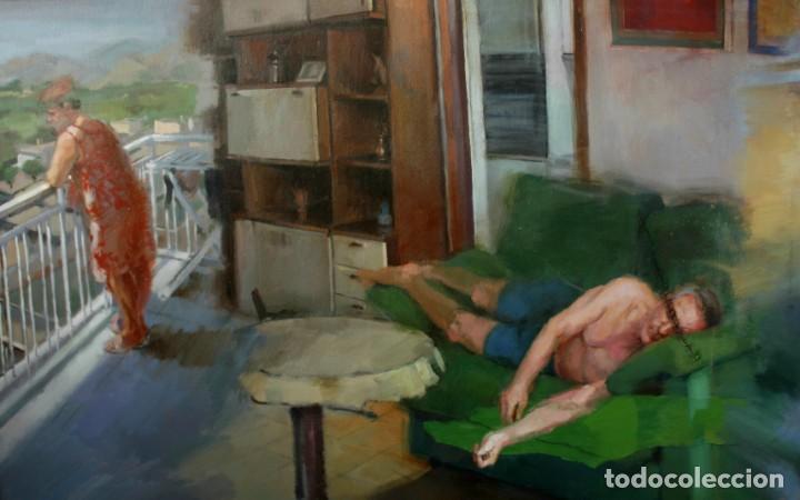 SUEÑO DE UNA TARDE DE VERANO - CARLOS ASENSIO (Arte - Pintura - Pintura al Óleo Contemporánea )
