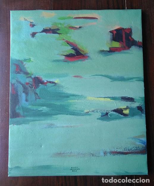 AMALIA GONZÁLEZ AVIA (SANTA CRUZ DE LA ZARZA, TOLEDO). SIN TÍTULO, 1996 (Arte - Pintura - Pintura al Óleo Contemporánea )