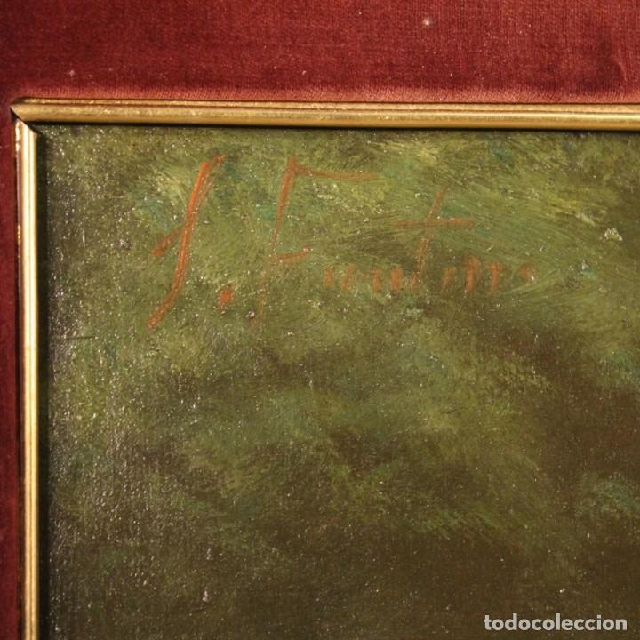 Arte: Pintura italiana firmada bodegón con fruta - Foto 2 - 195358218