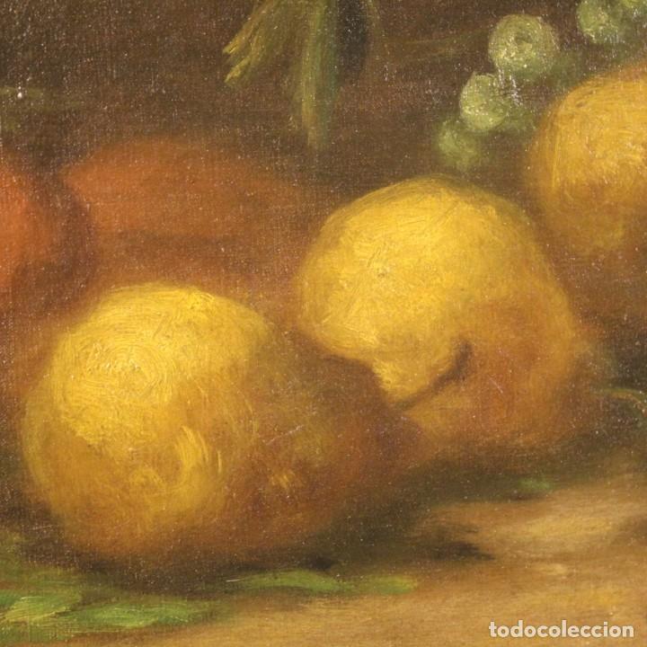 Arte: Pintura italiana firmada bodegón con fruta - Foto 8 - 195358218