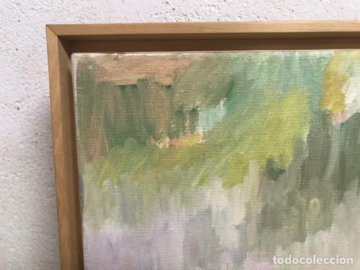 Arte: Pintura al óleo sobre lienzo firmada por Zaera Gasión - Foto 3 - 195378345