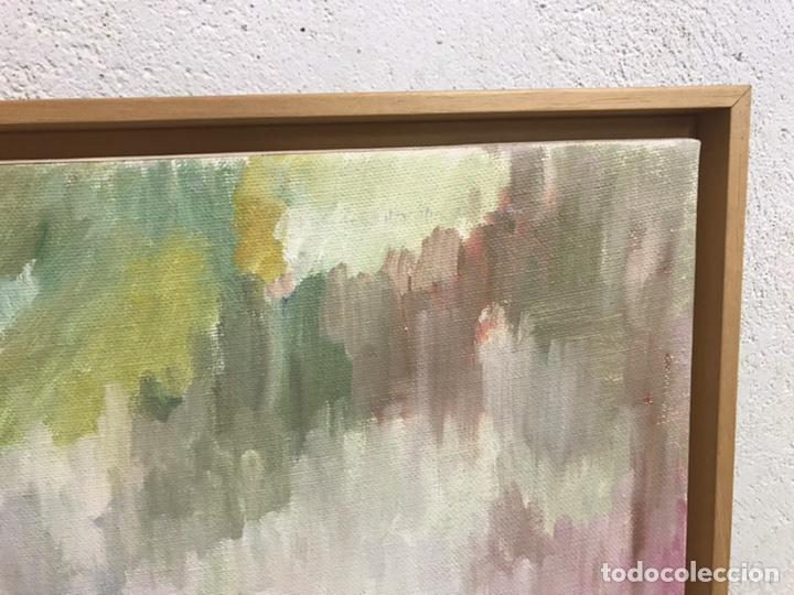 Arte: Pintura al óleo sobre lienzo firmada por Zaera Gasión - Foto 4 - 195378345