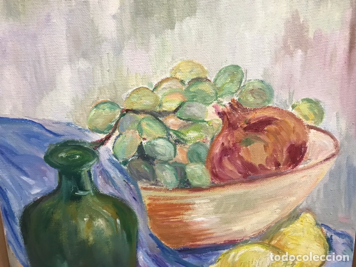 Arte: Pintura al óleo sobre lienzo firmada por Zaera Gasión - Foto 5 - 195378345