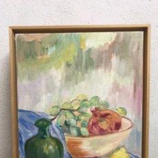 Arte: PINTURA AL ÓLEO SOBRE LIENZO FIRMADA POR ZAERA GASIÓN. Lote 195378345