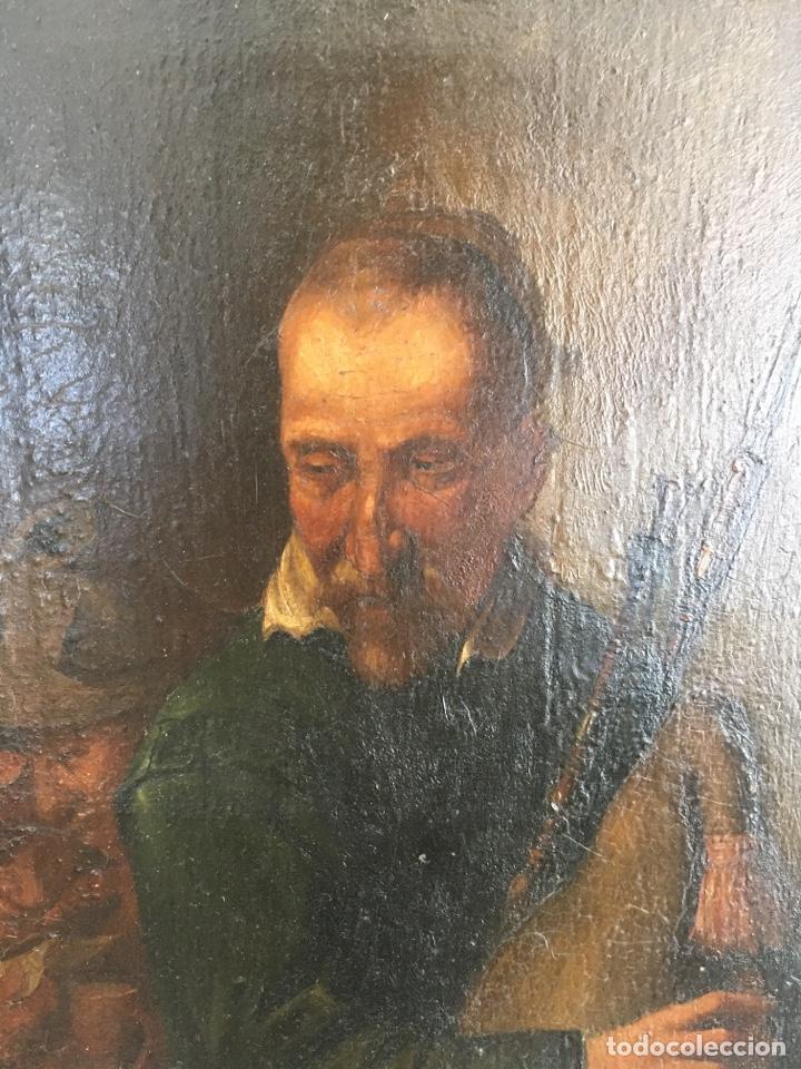 Arte: ESCUELA ESPAÑOLA, S. XIX. GAITERO. - Foto 2 - 195381207