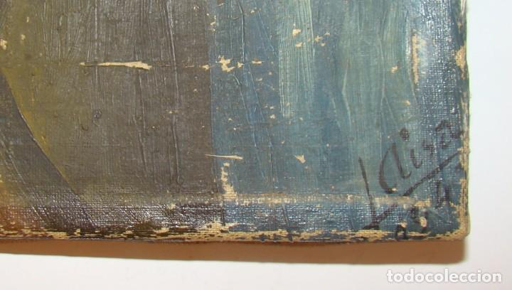 Arte: PINTURA HISTÓRICA DE POSTGUERRA. Óleo-lienzo en gran formato de 1943. - Foto 6 - 195381840