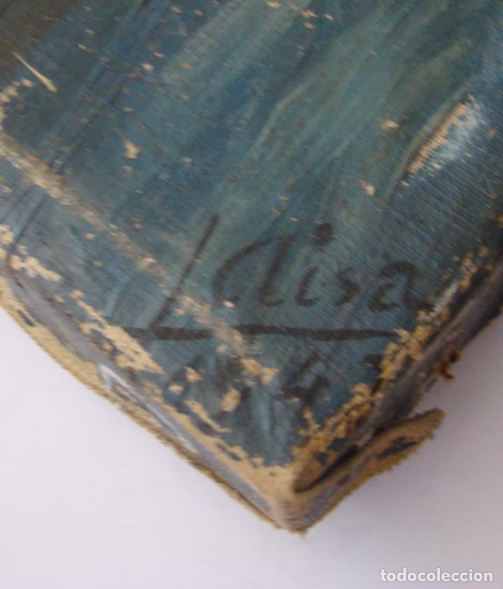 Arte: PINTURA HISTÓRICA DE POSTGUERRA. Óleo-lienzo en gran formato de 1943. - Foto 7 - 195381840