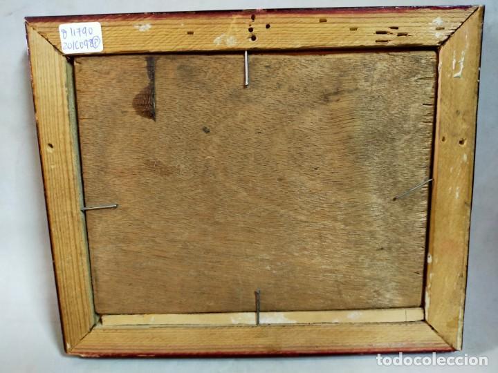 Arte: OLEO SOBRE TABLEX, PAISAJE COSTERO PUESTA DE SOL, FIRMADO - Foto 11 - 195383863