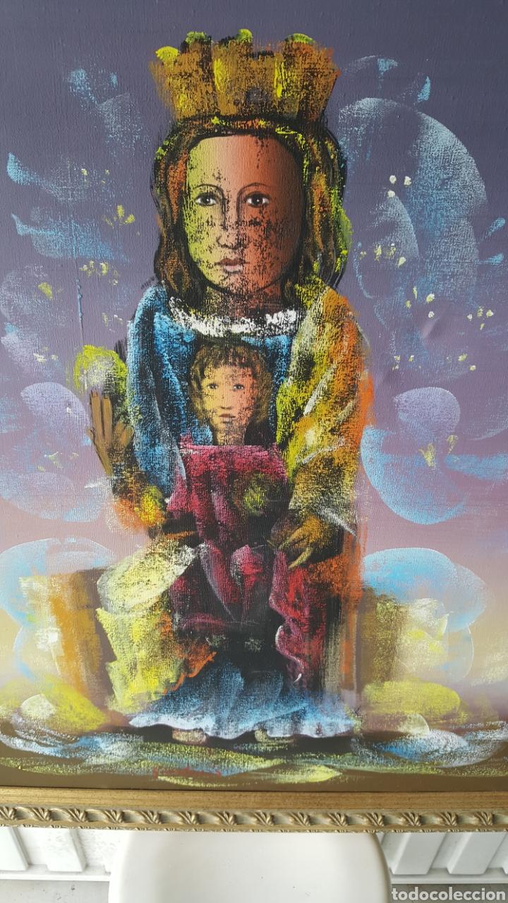 Arte: Cuadro oleo sobre lienzo.pintor gregorio tomas. - Foto 3 - 195386045