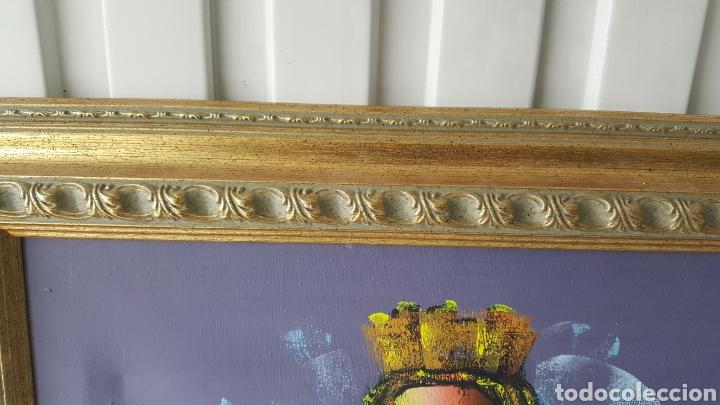 Arte: Cuadro oleo sobre lienzo.pintor gregorio tomas. - Foto 6 - 195386045