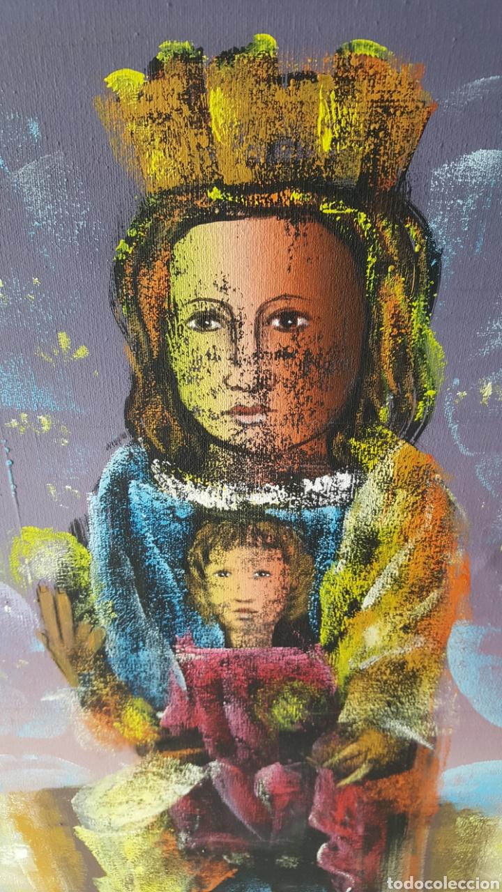 Arte: Cuadro oleo sobre lienzo.pintor gregorio tomas. - Foto 7 - 195386045