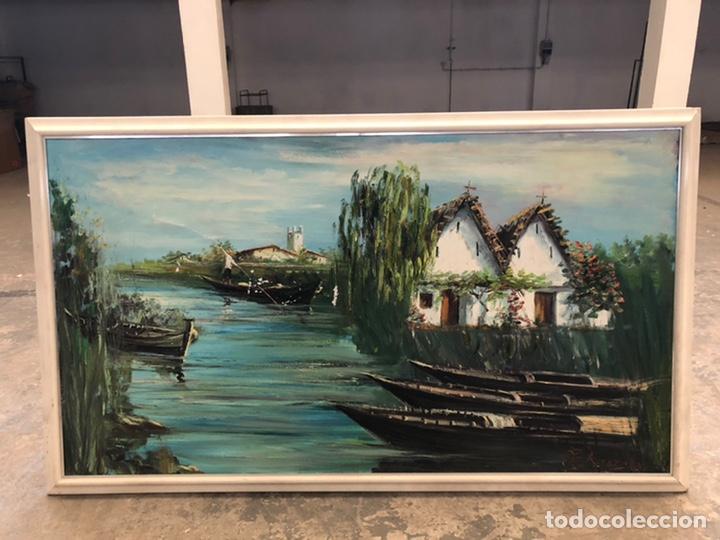 PAISAJE ALBUFERA DE VALENCIA,ROCAMORA (Arte - Pintura Directa del Autor)
