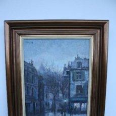 Arte: RAMÓN DE CAPMANY Y MONTANER (1899 - 1992) EXCELENTE OLEO SOBRE TABLA. DE SU MEJOR EPOCA.. Lote 195409808