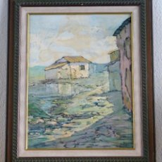 Arte: ÓLEO DE GANCEDO. Lote 195421178