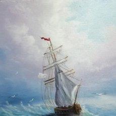 Arte: OLEO SOBRE LIENZO DE VIKTORIA RODIONOVA. RECONOCIDA ARTISTA RUSA, MIEMBRO DE LA UNION CREATIVA DE AR. Lote 195427453