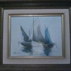 Arte: ÓLEO SOBRE LIENZO DE SORO. Lote 195434941