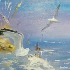 Arte: OLEO SOBRE LIENZO DE VIKTORIA RODIONOVA. RECONOCIDA ARTISTA RUSA, MIEMBRO DE LA UNION CREATIVA DE AR. Lote 195434975