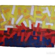 Arte: OLEO SOBRE TAPIZ DE MANUEL MARZO MART. Lote 195448935