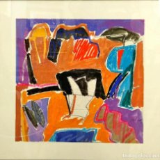Arte: OBRA DEL ARTISTA JORGE VIDAL. Lote 195471423