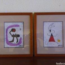 Arte: LOTE DOS CUADROS. Lote 195484692