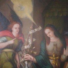 Arte: LA ANUNCIACIÓN. ESCUELA CASTELLANA SIGLO XVI.. Lote 195511327