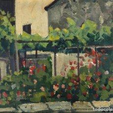Arte: RAFAEL DURAN BENET (1931-2015) JARDÍN ÓLEO. Lote 195537525