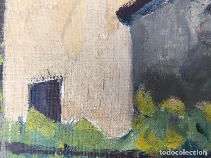 Arte: Rafael Duran Benet (1931-2015) jardín óleo - Foto 6 - 195537525