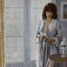 Arte: JOSEP MARIA VAYREDA CANADELL (GERONA 1932-2001) - FIGURA FEMENINA - ÓLEO SOBRE LIENZO. Lote 195544068