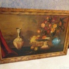 Arte: GRAN CUADRO PINTADO,BODEGÓN?ENTREGA EN MANO. Lote 195574981
