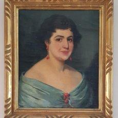 Arte: DANIEL SABATER SALABERT (VALENCIA,1888 - BARCELONA, 1951) - RETRATO DE JOVEN.OLEO/TELA.FIRMADO.1918.. Lote 195584327