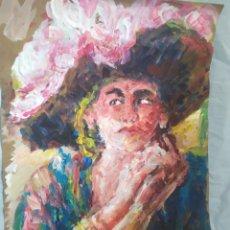 Arte: LA ELEGANCIA ( ORIGINAL. Lote 195640326