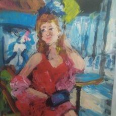 Arte: UN DIA EN PARIS(ORIGINAL). Lote 196135913
