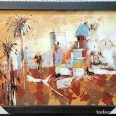 Arte: PRECIOSO CUADRO DE HERNAN DE 88X82 PINTURA SOBRE LIENZO. Lote 196302368