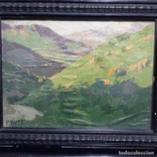 Arte: EXCELENTE ÓLEO SOBRE TELA DE PERE VIVER AYMERICH(1873-1917).. Lote 196315763