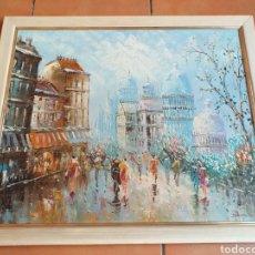 Arte: BONITA PINTURA,FIRMA PARECE JEUSEN O JENSEN?. Lote 196342201