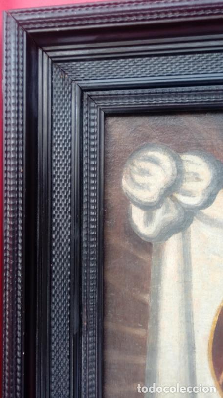 Arte: ÓLEO S/LIENZO -SANTA FAZ DE ALICANTE-. ESCUELA ESPAÑOLA S. XVI. DIM.- 75X64.5 CMS. - Foto 6 - 177299129