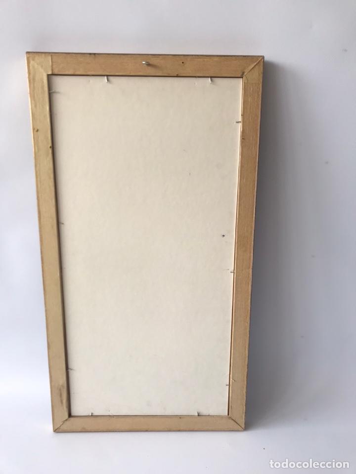 Arte: Óleo sobre lienzo pegado a una tabla. Pintura del siglo XVIII. Personajes. - Foto 10 - 146510696