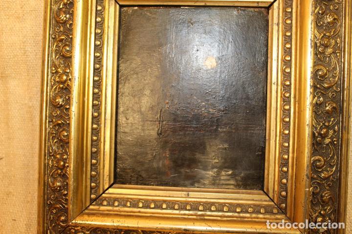Arte: oleo sbre tabla barco - Foto 2 - 196489500