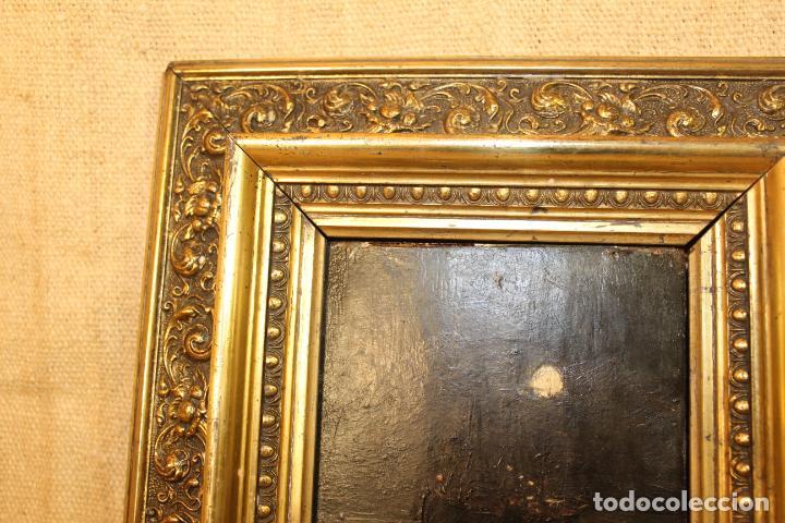 Arte: oleo sbre tabla barco - Foto 6 - 196489500