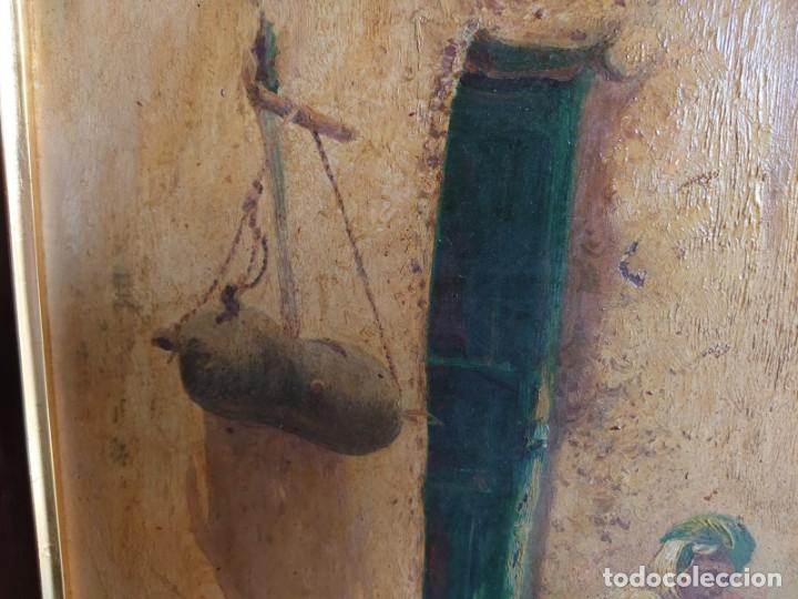 Arte: OLEO SOBRE CARTON CALLE DE UN PUEBLO ARABE - Foto 4 - 196494181