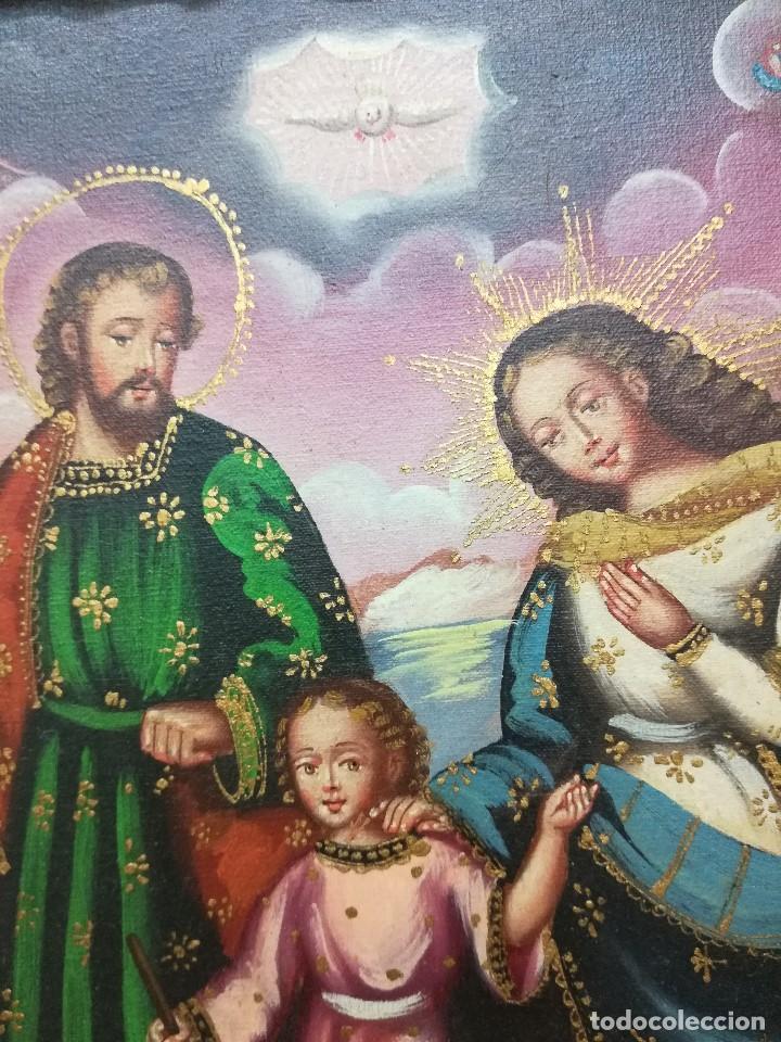 Arte: Sagrada familia de mediados del siglo XIX - Foto 3 - 196654883