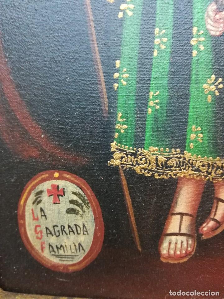 Arte: Sagrada familia de mediados del siglo XIX - Foto 4 - 196654883